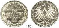 Deutsche Münzen und Medaillen,Frankfurt am Main Freie Stadt 1814 - 1866 Doppelgulden 1855. Religionsfrieden. Kahnt 179.  AKS 42.  Jg. 49.  Thun 138.  Dav. 647.