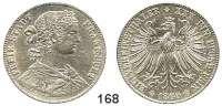 Deutsche Münzen und Medaillen,Frankfurt am Main Freie Stadt 1814 - 1866 Vereinstaler 1860.  Kahnt 168.  AKS 8.  Jg. 41.  Thun 142  Dav. 649.