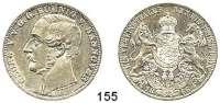 Deutsche Münzen und Medaillen,Braunschweig - Calenberg (Hannover) Georg V. 1851 - 1866 Vereinstaler 1866.  Kahnt 239.  AKS 144.  Jg. 96.  Thun 174.  Dav. 682.