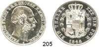 Deutsche Münzen und Medaillen,Mecklenburg - Schwerin Friedrich Franz II. 1842 - 1883 Vereinstaler 1864 A.  Kahnt 293.  AKS 38.  Jg. 58.  Thun 215.  Dav. 728.