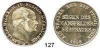 Deutsche Münzen und Medaillen,Preußen, Königreich Friedrich Wilhelm IV. 1840 - 1861 Ausbeutevereinstaler 1858 A.  Kahnt 380.  AKS 79.  Jg. 85.  Thun 263.  Dav. 776.