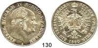 Deutsche Münzen und Medaillen,Preußen, Königreich Friedrich Wilhelm IV. 1840 - 1861 Vereinstaler 1860 A.  Kahnt 379.  AKS 78.  Jg. 84.  Thun 262.  Dav. 775.