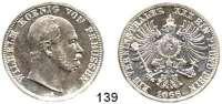 Deutsche Münzen und Medaillen,Preußen, Königreich Wilhelm I. 1861 - 1888 Vereinstaler 1866 A.  Kahnt 388.  AKS 99.  Jg. 96.  Thun 270. Dav. 782.