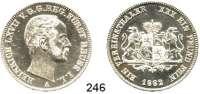 Deutsche Münzen und Medaillen,Reuß Jüngerer Linie (Schleiz) Heinrich LXVII. 1854 - 1867 Vereinstaler 1862 A.  Kahnt 408.  AKS 36.  Jg.133.  Thun 287.  Dav. 802.