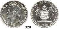 Deutsche Münzen und Medaillen,Sachsen Johann 1854 - 1873 Ausbeutevereinstaler 1865 B.  Kahnt 471.  AKS 135.  Jg. 127.  Thun 349.  Dav. 896.