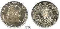 Deutsche Münzen und Medaillen,Sachsen Johann 1854 - 1873 Vereinstaler 1867 B.  Kahnt 470.  AKS 137.  Jg. 126.  Thun 348. Dav. 895.