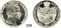 Deutsche Münzen und Medaillen,Schaumburg - Lippe Georg Wilhelm 1807 - 1860 Vereinstaler 1860 B.  Kahnt 525.  AKS 5.  Jg. 15.  Thun 389.  Dav. 909.