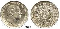 Deutsche Münzen und Medaillen,Schwarzburg - Rudolstadt Friedrich Günther 1807 - 1867 Vereinstaler 1866.  Kahnt 537.  AKS 13.  Jg. 56.  Thun 397.  Dav. 918.