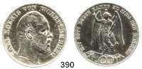 Deutsche Münzen und Medaillen,Württemberg, Königreich Karl 1864 - 1891 Siegestaler 1871.  Kahnt 594.  AKS 132.  Jg. 86.  Thun 443.