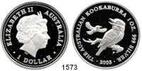 AUSLÄNDISCHE MÜNZEN,Australien  1 Dollar 2003