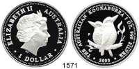 AUSLÄNDISCHE MÜNZEN,Australien  1 Dollar 2000