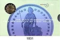 AUSLÄNDISCHE MÜNZEN,Schweiz  Kurssatz 2000.  150 Jahre Schweizer Franken.  KM MS 34.  Originalverpackt.