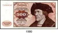 P A P I E R G E L D,BUNDESREPUBLIK DEUTSCHLAND  500 Deutsche Mark 1.6.1977.  V...P  Ros. BRD-23 a.