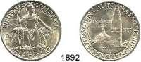AUSLÄNDISCHE MÜNZEN,U S A  Gedenk Half Dollar 1936 D.  San Diego.  Schön 176.  KM 171.