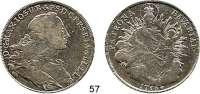 Deutsche Münzen und Medaillen,Bayern Maximilian III. Josef 1745 - 1777 Madonnentaler 1756.  Hahn 306.  Dav. 1952.