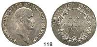 Deutsche Münzen und Medaillen,Preußen, Königreich Friedrich Wilhelm III. 1797 - 1840 Taler 1816 A.  Kahnt 362.  AKS 11.  Jg. 33.  Thun 244.  Dav. 756.