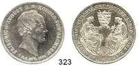 Deutsche Münzen und Medaillen,Sachsen Friedrich August II. 1836 - 1854 Taler 1854 F.  Sterbetaler.  Kahnt 452.  Jg. 94.  AKS 117.  Thun 329.  Dav. 881.