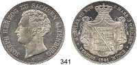 Deutsche Münzen und Medaillen,Sachsen (- Hildburghausen) - Altenburg Josef 1834 - 1848 Doppeltaler 1841 G.  Kahnt 481.  AKS 48.  Jg. 108.  Thun 353.  Dav. 811.
