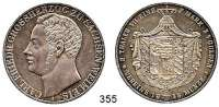 Deutsche Münzen und Medaillen,Sachsen - Weimar - Eisenach Karl Friedrich 1828 - 1853 Doppeltaler 1848 A.  Kahnt 515.   AKS 20.  Jg. 532.  Thun 383.  Dav. 844.