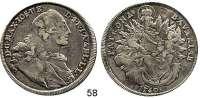 Deutsche Münzen und Medaillen,Bayern Maximilian III. Josef 1745 - 1777 Madonnentaler 1760.  7,91 g.  Hahn 307.  Dav. 1953.