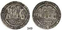 Deutsche Münzen und Medaillen,Sachsen - Weimar Johann Ernst und seine Brüder 1605 - 1626 Achtbrüder-Taler 1609 WA.  28,78 g.  Koppe 193.  Dav. 7523.  vgl. Mb. 3791/95.