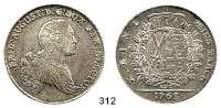 Deutsche Münzen und Medaillen,Sachsen Friedrich August III. 1763 - 1806 (1827) Taler 1768 EDC, Dresden.  27,91 g.  Kahnt 1072.  Mb. 1927.  Buck 127.  Dav. 2682.
