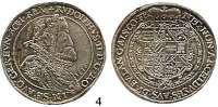Römisch Deutsches Reich,Haus Habsburg Rudolf II. 1576 - 1612 Taler 1610, Ensisheim.  27,62 g.  Voglh. 95/IX.  Dav. 3035.