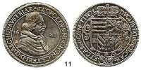 Römisch Deutsches Reich,Haus Habsburg Erzherzog Leopold 1619 - 1632 Taler 1621, Hall.  28,51 g.  Voglh. 175/I Var.  Dav. 3328.