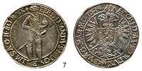 Römisch Deutsches Reich,Haus Habsburg Ferdinand II. 1619 - 1637 Taler 1624, Prag.  29,07 g.  Voglh. 149/I.  Dav. 3136.
