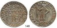 Deutsche Münzen und Medaillen,Braunschweig - Wolfenbüttel Heinrich Julius 1589 - 1613 Taler 1612, Zellerfeld.  28,99 g.  Welter 645 B.  Dav. 6285.