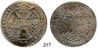 Deutsche Münzen und Medaillen,Nürnberg, Stadt Ferdinand II. 1619 - 1637 Taler 1623.  28,88 g.  Kellner 231 a(163).  Dav. 5637.
