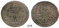 Deutsche Münzen und Medaillen,Nürnberg, Stadt Ferdinand II. 1619 - 1637 Taler 1625.  29,09 g.  Kellner 230(162).  Dav. 5636.