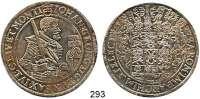 Deutsche Münzen und Medaillen,Sachsen Johann Georg I. 1611 - 1656 Taler 1627 HI, Dresden.  29,15 g.  Clauss/Kahnt 158.  Dav. 7601.